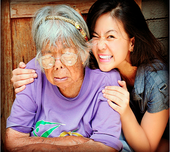 """""""Indeed Lola, you have lived a hundred years and more."""" Photo: Ayeona Brett Wandag (great grandson)"""